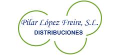logo de distribuiciones pilar lopez freire